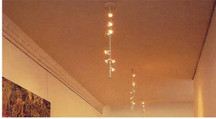 vertical drop track lighting e